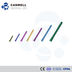 2.5, 3.0, 3.5, 4.0, 4.5, 5.0, 6.5 Canwell медицинского титана Cannulated винт сжатия без Герберт винт с маркировкой CE, ISO и FDA для ортопедических травмы винт