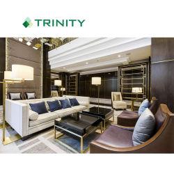 Prezzo di fabbrica cinque stelle personalizzato della mobilia del salone del salotto dell'ingresso dell'hotel