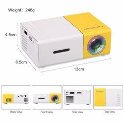 Yg-300 Mini Projector LED HD 1080 de cinema em casa portátil Pocket Barato preço Yg300