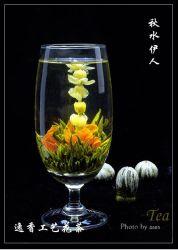 Thee van de Thee van de Bloem van de Gezondheid van het Pakket van de Doos van de Gift van de douane de Organische Bloeiende In het groot Chinese