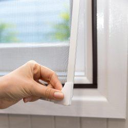 Banheira de venda de insetos de Tarja Magnética/Janela Dust-Proof voar na janela Rede mosquiteira tela