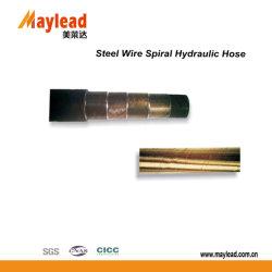 2502高圧鋼線の螺線形のゴム製ホースの高品質