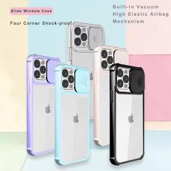 Capa para telemóvel iPhone 12 PRO proteção da lente da câmara deslizante