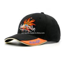 2개의 LED 조명 스트립에 새겨진 맞춤형 유니섹스 플랫 자수 Custom Logo를 갖춘 Brim Baseball Caps
