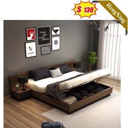 Hotel moderno apartamento de Home Muebles de salón dormitorio cama doble pared Rey Set