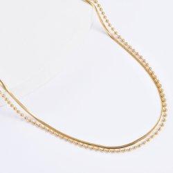 Оптовая торговля новейших из нержавеющей стали имитацией моды украшения аксессуары для масштабного эффекта цепь цепочка для леди Jewel дизайн