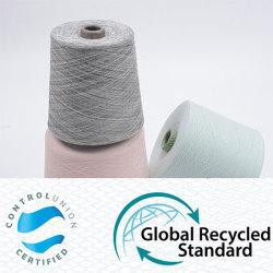Сертификат красочные вязания пряжа для вязания машины ткань малыша в стандартной комплектации (5s до 120s) (Oeko-tex100/GRS/BCI/GOTS)