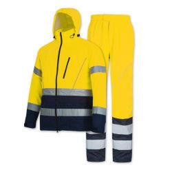 Custom Оксфорд пути спасения мужчин отражает водонепроницаемую куртку одежду с маркировкой CE сертификатов