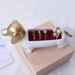 فاتن راتينج [بوبّي دوغ] حل حامل مجوهرات حلية حامل لأنّ زخرفة بيتيّة