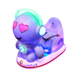 Coloridas luces paseo en coche de bebé de plástico Swing alquiler de coche eléctrico de los Niños Precios baratos para la venta
