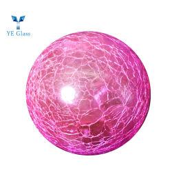 Motif décoratif colorés crépitement Bille de verre abat-jour