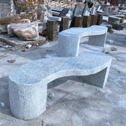 Neue handgemachte Gartenbank Granit, Marmor poliert Hocker Stein Bank zum Verkauf
