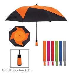 특별한 밝은 비오는 날 동안 형식 직물 OEM 2 접히는 우산