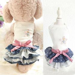 Cão de estimação cachorro diafragma pequeno cão Fashion Verão roupas de cães
