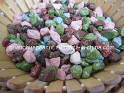 Piedra de color chocolate grueso/paquetes pequeños