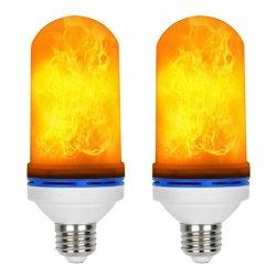 E27 LED Flamme-Effekt-Feuer-Glühlampe-flackernde Dekor-Lampe der Flamme-Birnen-85-265V LED