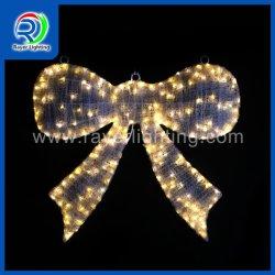 Nova Bela Fita LED de Natal Luz de decoração Mall condecorações levou imenso arco