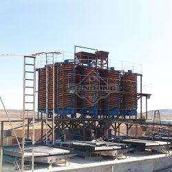 Goldmineraltrennung-Verarbeitungsanlage in Südafrika
