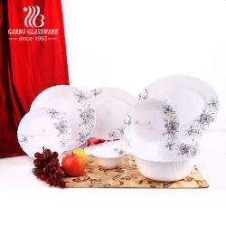 Fantastisches Glasopalglas-Abendessen-Set des tafelgeschirr Soem-Abziehbild-26PCS (BYS026003-T15)