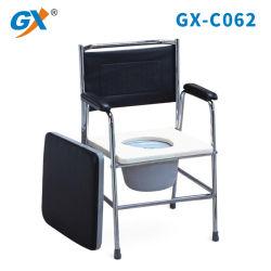大人のためのパッドを入れられたArmrestsが付いている鋼鉄洗面所の椅子