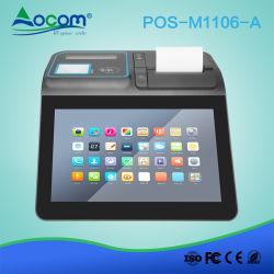 جهاز كمبيوتر لوحي يعمل بنظام Windows مزود بطابعة بنظام Android POS واحد