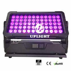 Наружное освещение города цвет 60*10W RGBW IP65 Водонепроницаемый на стену