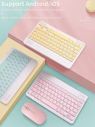 030 Nueva llegada del Ratón El teclado inalámbrico Bluetooth de aluminio para iPad Mini