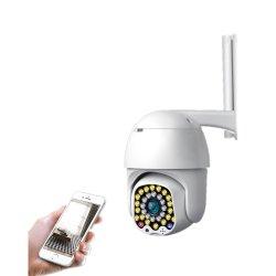 Everexceed 1080P 2MP WiFi Radioapparat u. IP66 imprägniern die im Freien 320 + 90 Grad-Überwachungskamera 32 Infrare LED (wc007S32)