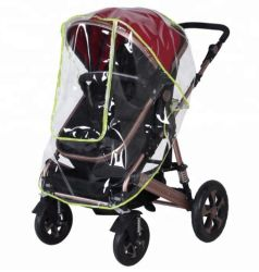 À prova de PVC transparente carrinho de bebé capa de chuva