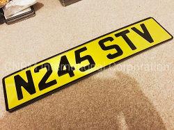 Номерного знака автомобилей марки виниловых Светоотражающие покрытия