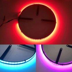 Un seul côté roue automobile LED éclairage annulaire universel de voiture la lumière des pneus de RIM
