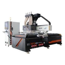 Cuatro Cabezas Router CNC importados servomotor fabricante profesional