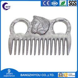 Kam van uitstekende kwaliteit van het Paard van het Aluminium van de Producten van de Zorg van het Paard van de Levering van het Aluminium de Ruiter