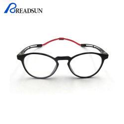 ガラスのコンピュータガラスの女性のPresbyopic Eyewear Trの目ガラスフレームを妨げる2020の人磁気細字用レンズの青いライト