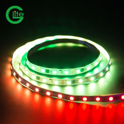 30 de Glite direccionable de LED RGB LED digital de banda de la Magia de píxel de la luz de banda de 12V 2811 con el proveedor de energía y del controlador.