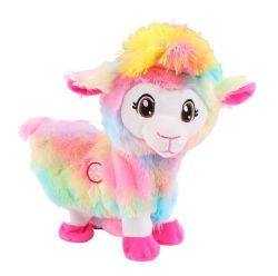 Comercio al por mayor Story-Telling y canciones ovejas caminando para bebés animales electrónico único juguete
