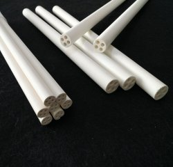 Электрическая изоляция MGO Magnesia керамические трубы