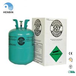 R507 Gás Congelar amplamente utilizado em aparelhos electrodomésticos de refrigeração dos sistemas de AC