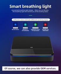Mejor Smart Media Streaming TV Box Android Quad Core de 4K Decodificador Caso