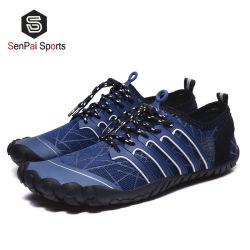 O verão Dk Navy Grosso Beach Curta Custom Homens descalços Aqua sapatos de Água