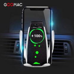 Sensor inteligente cargador inalámbrico de coche accesorios para teléfonos inalámbricos con velocidades de carga de Qi