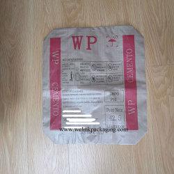 Pp. gesponnene Säcke für Verpackungs-Kleber mit Ventil