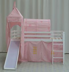 Midsleeper 캐빈 벙크 침대 캐슬 텐트 로프트 침대 - 슬라이드 Slat