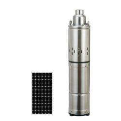 DC Forage vis de la pompe à eau submersibles solaire avec moteur brushless à aimant