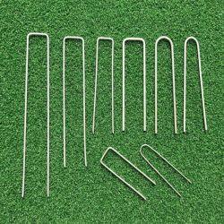 黒 / 亜鉛メッキ /PVC コーティング / ステンレススチールワイヤ SOD/Turf/ 草 / 側地用ステープル