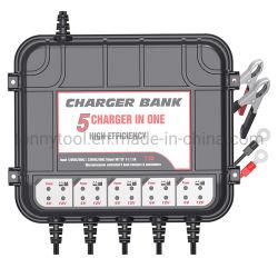 5개의 은행 차, 배, RV, SUV 또는 트럭 비용을 부과를 위한 바다 지능적인 배터리 충전기 /Maintainer