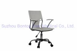 크롬 기초와 팔걸이를 가진 다채로운 PVC 가죽 사무실 회전 의자