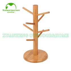 Organizzatori di bambù della tazza che asciugano cremagliera