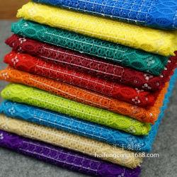 Mode de gros de haute qualité Tissu dentelle élastique pour bricolage