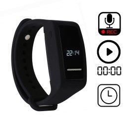 8 GB de bracelete Vor ativada por voz de áudio digital de gravação de som